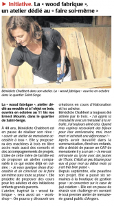 article wood fabrique